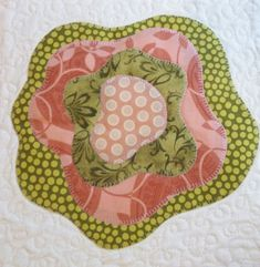 I used fusible applique and machine blanket stitching techniques. Quilt Block Patterns, Applique Patterns, Applique Quilts, Quilt Blocks, Applique Designs, Embroidery Designs, Machine Applique, Machine Quilting, Machine Embroidery
