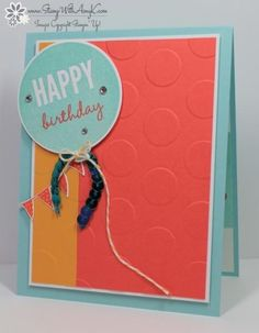 CAS Celebrate Today Birthday Card by amyk3868 - Cards and Paper Crafts at Splitcoaststampers