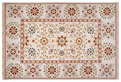 We like this lookSonoma Rug, Ivory/Multi on OneKingsLane.com