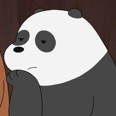 We Bare Bears Wallpapers, Panda Wallpapers, Cute Wallpapers, Bear Cartoon, Cartoon Memes, Cartoon Pics, Cute Bear Drawings, Easy Drawings, Bear Wallpaper