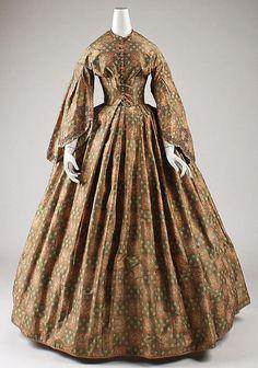 Dress  c.1860-1863  The Metropolitan Museum of Art