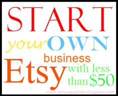 Start your own Etsy business with less than $50 (and make it all back before investing another dime)