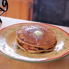 Cinnamon Polenta Pancakes by tramplingrose