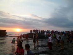 El sunset de Tanah Lot, casi sin turistas