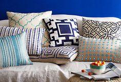 Bold Pillows & Throws