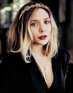 Elizabeth Olsen for Vanity Fair Italy, April 2016