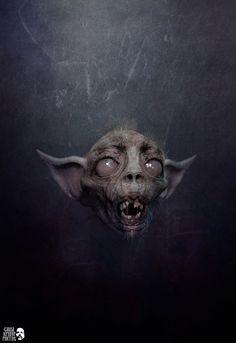 Demon Javjauk by Kriegerman (similar to Drekavac)