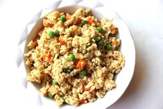 It seriously tastes like the real deal. I would not lie to you. Rice is substituted with grated cauliflower, and it's SO easy to make.