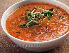 Raw Vegan Joy – Supa crema de dovleac