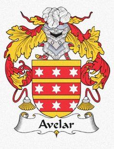 Avelar family crest