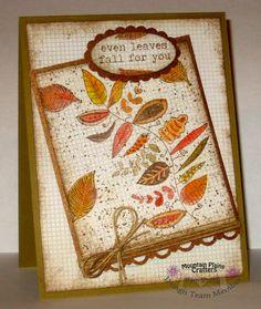 Fall, Autumn, Harvest, leaves, card