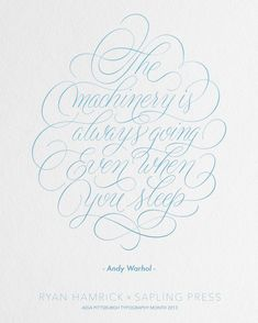Hand lettered. Hand lettering. Letterpress. By Ryan Hamrick - The Machinery Mockup.png