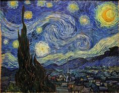 Pós-impressionismo: A Noite Estrelada, de Vincent van Gogh
