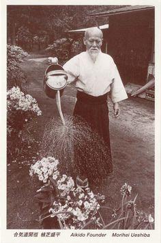 Morihei Ueshiba, Aikido Founder