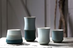 KRISTINA VILDERSBØLL // Kristina works sculpturally with storage solutions when creating her ceramic pieces.