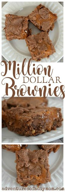Million Dollar Caramel Brownies Recipe