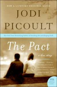 """The Pact"" by Jodi Picoult  Great books that deal with tough life issues"