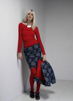 by Magda Hasiak: Stories  #magdahasiak #stories #fashion #womanfashion #fashionred #womaninred #redshirt #fashionshirt #fashionskirt #textilefashion  #fashionaccessoria #elegantwoman #fashionlook #designerslook