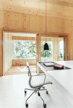 Gallery - Wood Studio House / Dom Arquitectura