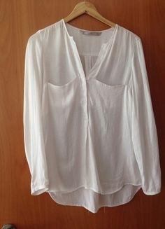 Kaufe meinen Artikel bei #Kleiderkreisel http://www.kleiderkreisel.de/damenmode/blusen/115856536-zara-bluse-weiss