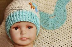 "Комплект ""Small Life"" плед, шапочки, пинетки - Ярмарка Мастеров - ручная работа, handmade"