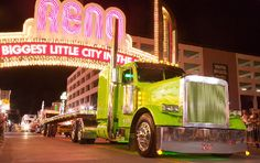 Light Parade in Reno - Hot Summer Nights 2007...Lime Green
