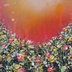 Textured Blossom | DegreeArt.com The Original Online Art Gallery Clocks Forward, Easter Season, Floral Artwork, Spring Has Sprung, Living Room Art, Online Art Gallery, Texture, Abstract, Painting
