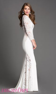 Formal Dresses Long Sleeves