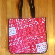 "Lululemon Reusable Medium Size Tote Bag Lululemon reusable tote bag.  Never been used.  Measurements 15"" x 14"". lululemon athletica Bags Totes"