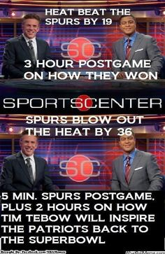 And we know what you're thinking: Maybe if the Spurs got the respect from ESPN… | An Open Letter To San Antonio Spurs Fans