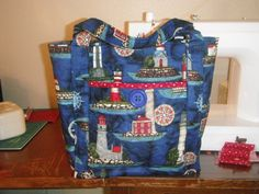 Lighthouse Bag.  Peace, Robert from nancysfabrics.com