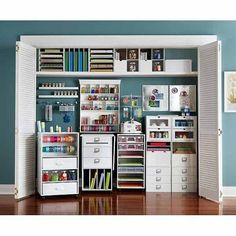 Cheap Craft Room Storage and Organization Furniture Ideas 11