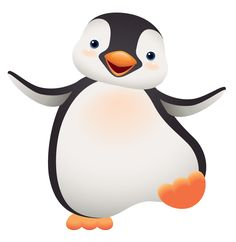 cute penguin clip art use these free images for your websites rh pinterest com free penguin clipart borders free penguin clipart images