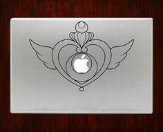 """Sailor Moon Heart Decal Sticker Vinyl For Macbook Pro/Air 13"""" Inch 15"""" Inch 17"""" Inch Decals Laptop Cover"""