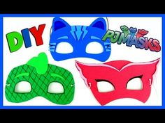 PJ Masks inspired favor bags - YouTube
