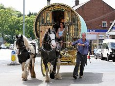 Appleby Horse Fair, England  Gypsy Vanner Horses