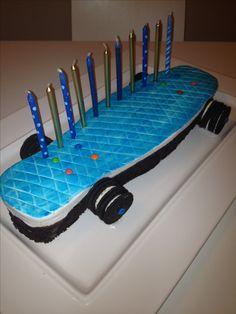 Penny Board Cake
