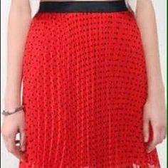 Forever 21 Dresses & Skirts - I ❤️ offers! Polka dot skirt sz M