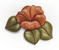 Hone your intarsia skills and use up some small pieces of wood with this lovely flower. Order Scroll Saw Woodworking & Crafts Winter/Spring 2016 (Issue 62) at http://scrollsawer.com/2015/12/09/scroll-saw-woodworking-crafts-winterspring-2016-issue-62/ to learn more.