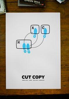 Cut copy...dance!