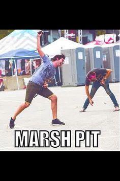 Marsh pit!