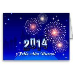 Tarjetas De Ano Nuevo 2014 | ... Greeting Tarjetas, Invitaciones, Tarjetas Postales Y Mucho Mas