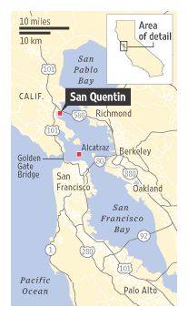 56 Best San Quentin images | Prison, Behind bars, San ... San Quentin State Prison California Map on san quentin ca map, california state prison map, northern california map,