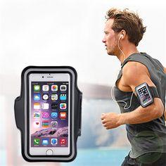 Tập thể Dục thể thao Chạy Gym Armband Pouch Chủ Huống Bag cho Điện Thoại Di Động miễn phí vận chuyển