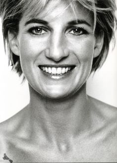 Diana, Princess of Wales (born Diana Spencer, 1961-1997) - first wife of Charles, Prince of Wales. Photo by Mario Testino