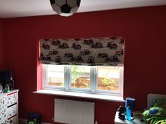 If you need some inspiration for a childrens bedroom, this mini inspired blind is great fun