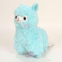 Alpacasso: Rainbow Alpacasso Plush Toy: Blue (16cm)