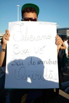 20/06/2013. Crédito: Ana Rayssa. Brasil. Brasília - DF. Manifestação em Brasília.