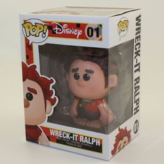 Disney Wreck It Ralph - Vinyl Figure - RALPH (4 inch)  NM BOX  934869ccaed