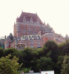 Château Frontenac Quebec View of the Frontenac castle from Notredame street